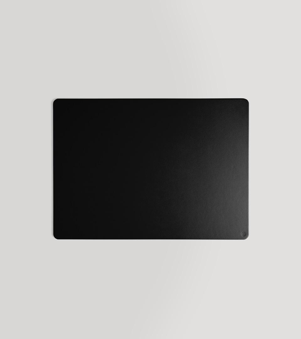 schwarz C Matthey Stiftk/öcher aus Leder